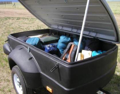 Rent Car Top Cargo Box